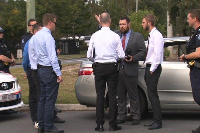 Прихожанам мечети пришлось вызывать полицию, которая задержала правонарушителей / abc.net.au