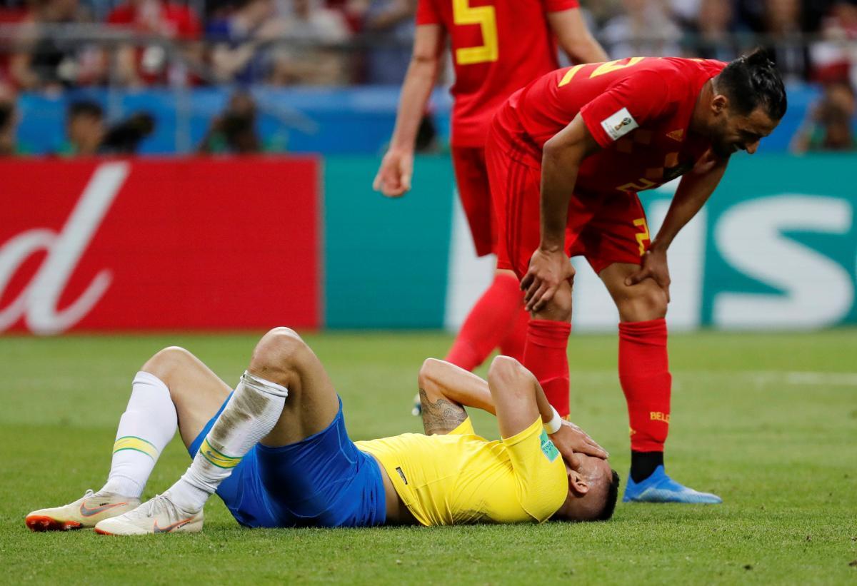 Бразилия проиграла Бельгии на ЧМ-2018 / Reuters
