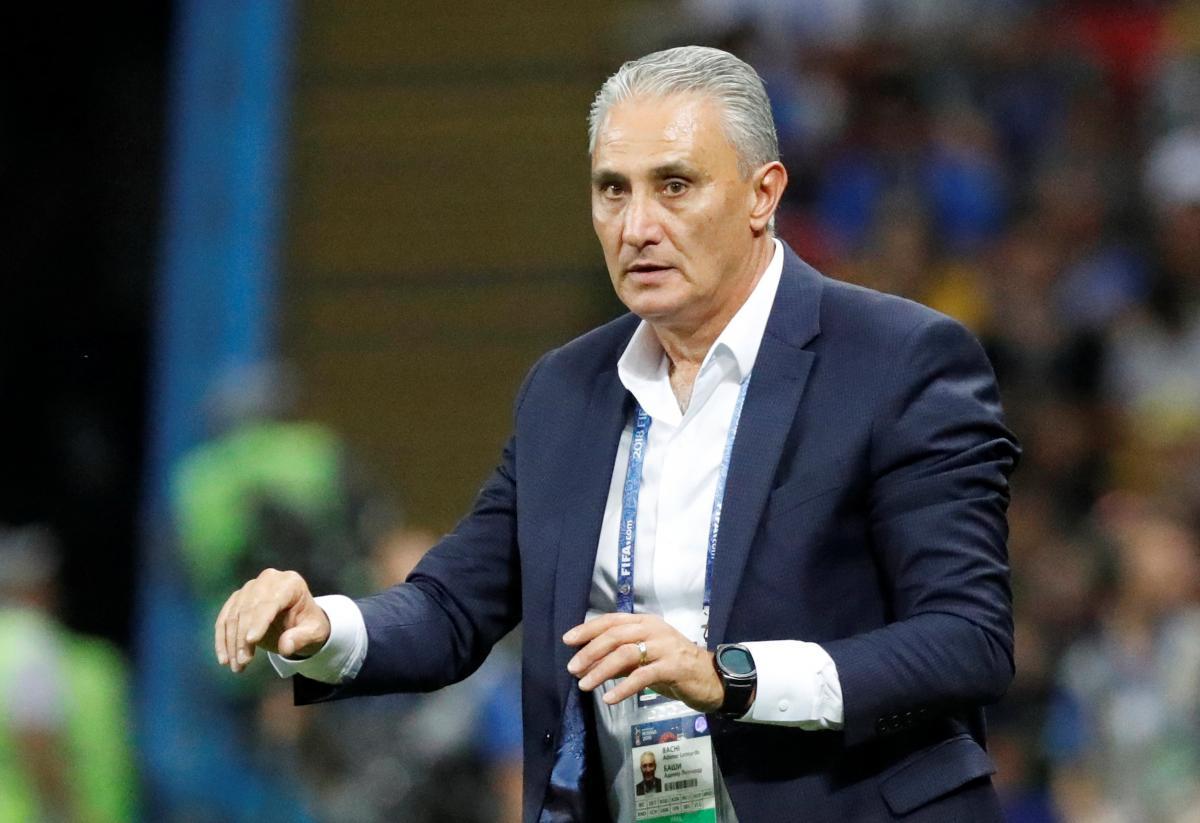 Тите предложили продлить сотрудничество со сборной Бразилии / Reuters