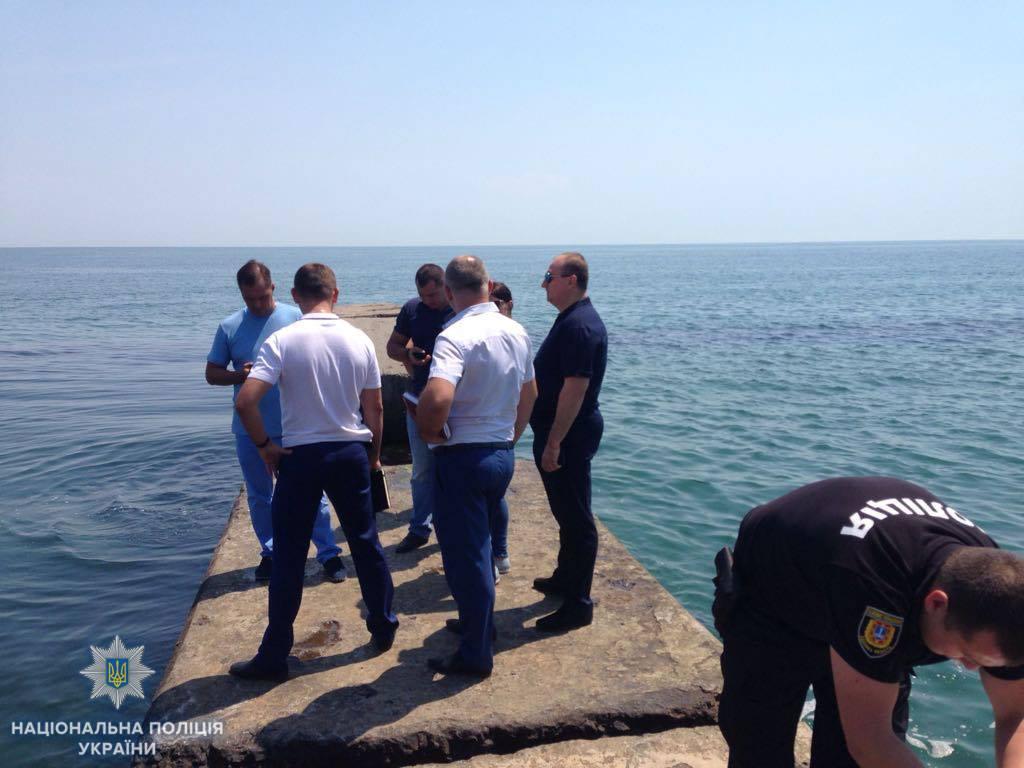 После экспертизы будет принято окончательное процессуальное решение / фото Полиция Одесской области