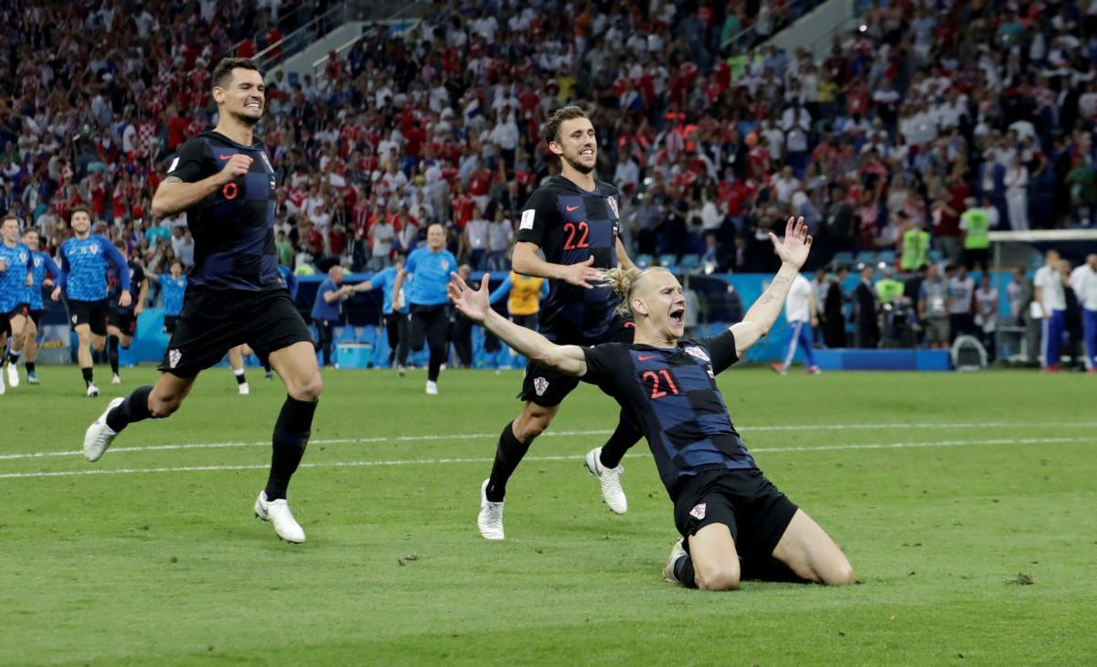 Домагой Віда став одним з героїв матчу збірної Хорватії проти Росії / REUTERS