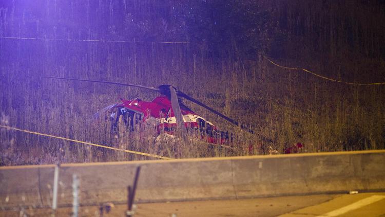 В США упал медицинский вертолет / фото chicagotribune.com