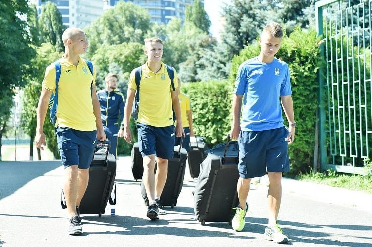 Збірна України (U-19) вирушила у Фінляндіюна Євро-2018 / ffu.org.ua