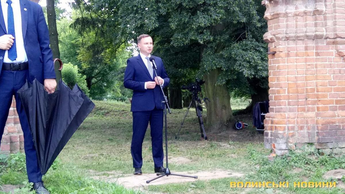 Дуда: 75-я годовщина - это печальная дата для польских семей / фото volynnews.com