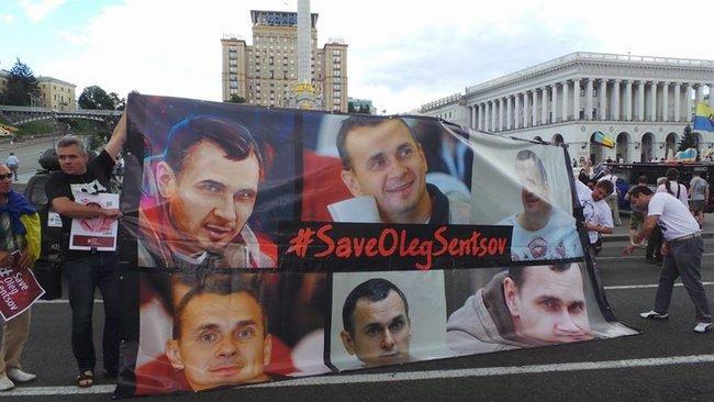 Сестра вважає, що у питанні звільнення Сенцова визначальною є політична воля Путіна / фото Олег Богачук, Цензор.НЕТ