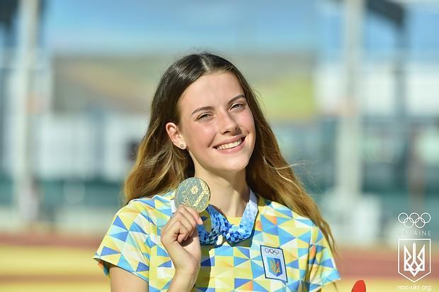 Ярослава Магучіх - чемпіонка Європи (U-18) з легкої атлетики / НОК України