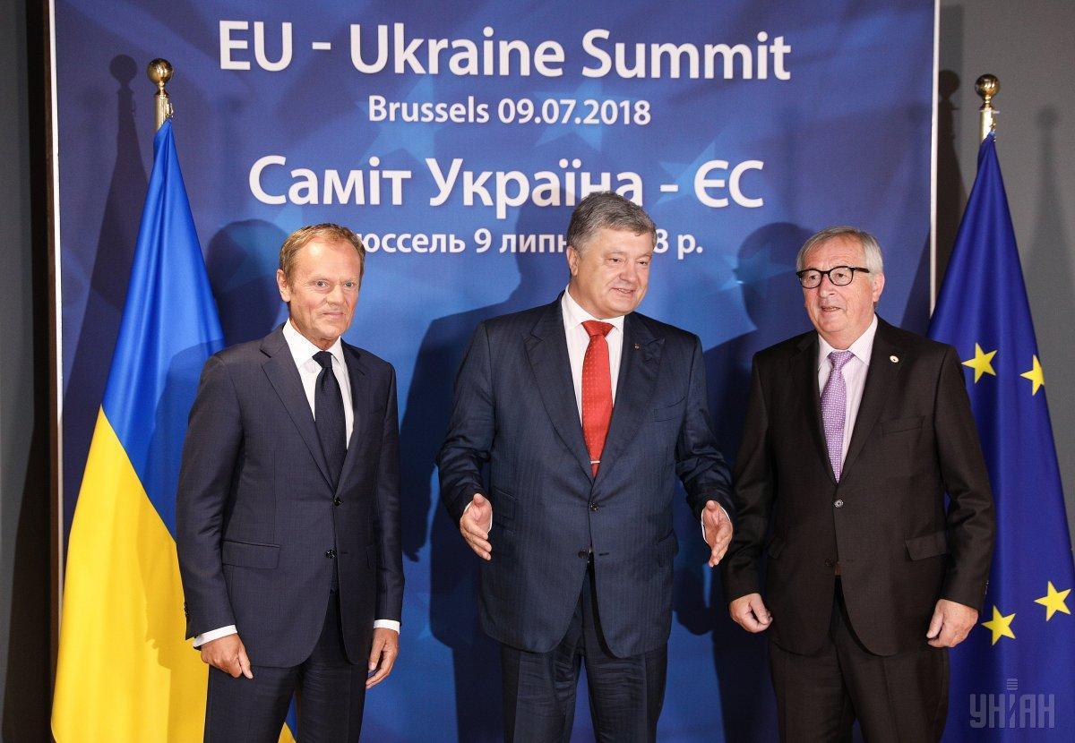 В понедельник в Брюселе прошел саммит Украина – ЕС / фото УНИАН