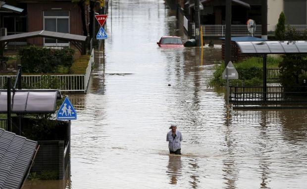 Повінь в Японії / REUTERS
