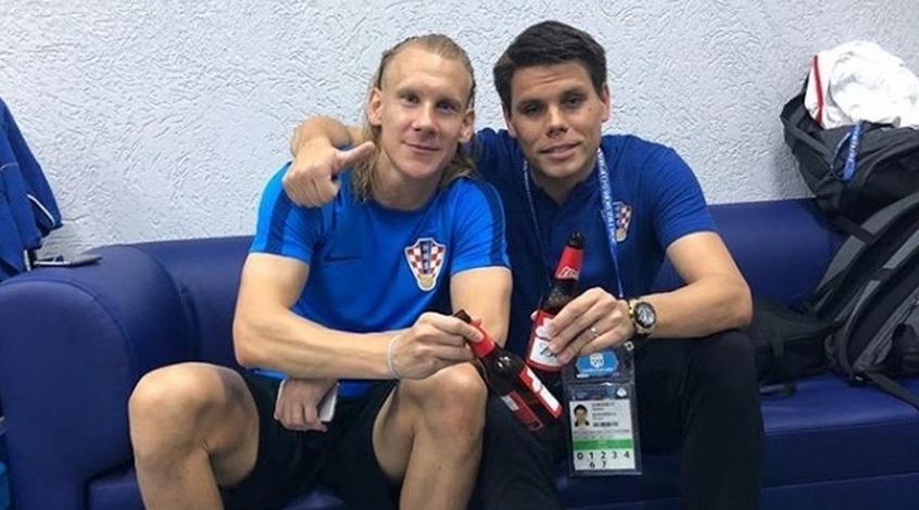 """Домагой Вида (слева) записал еще одно видео с лозунгом""""Слава Украине!"""" / footboom.com"""