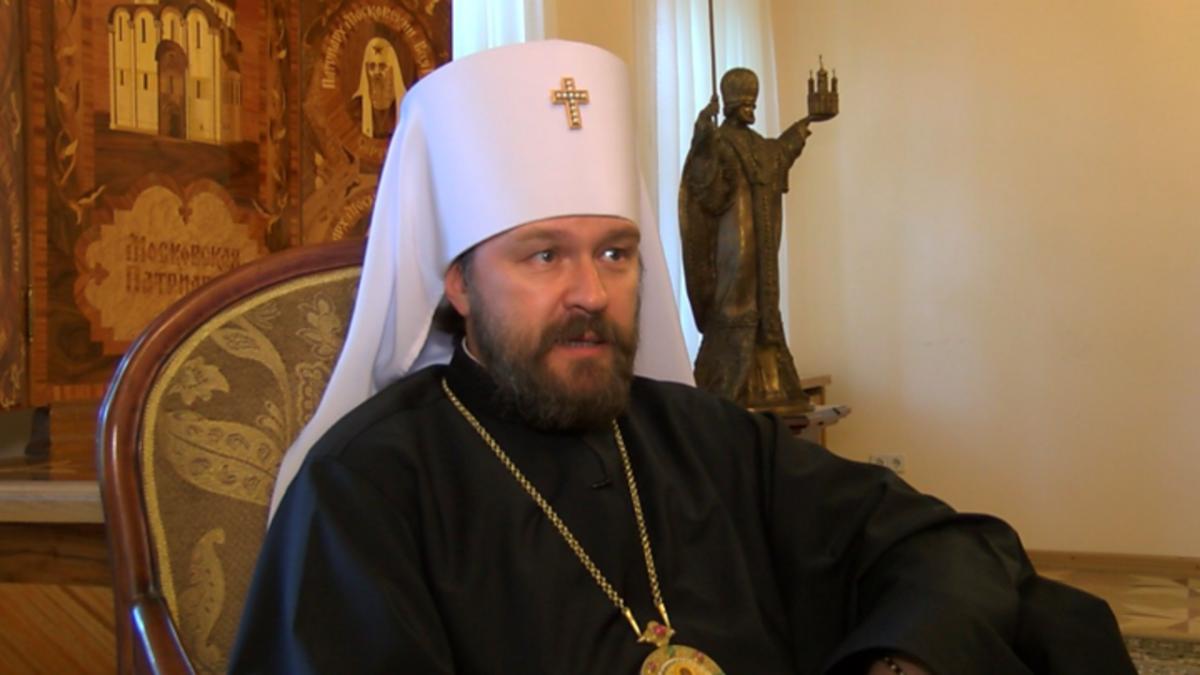 Митрополит Волоколамський Іларіон (Алфєєв) / news.vse42.ru
