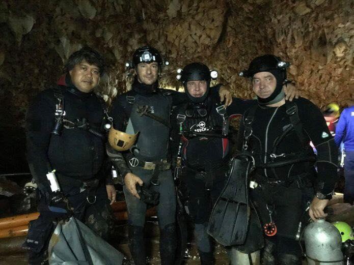 Сейчас спасены 8 ребят / facebook.com/pavloklimkin.ua/