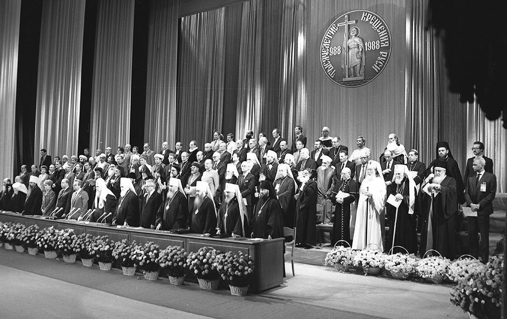 Торжества, посвященные празднованию 1000-летия Крещения Руси. 1988 год / vera.foma.in.ua