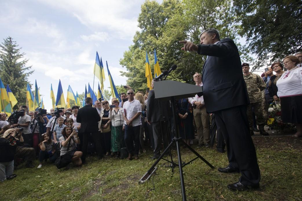 Петр Порошенко во время рабочего визита в Польшу 8 июля / president.gov.ua
