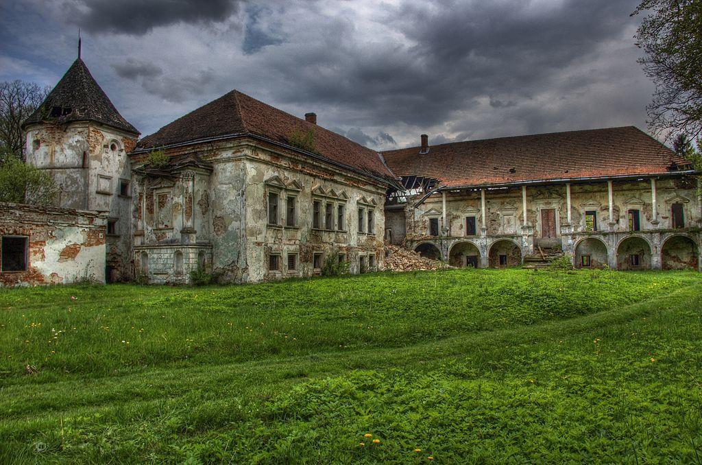 Поморянський замок / Фото uk.wikipedia.org