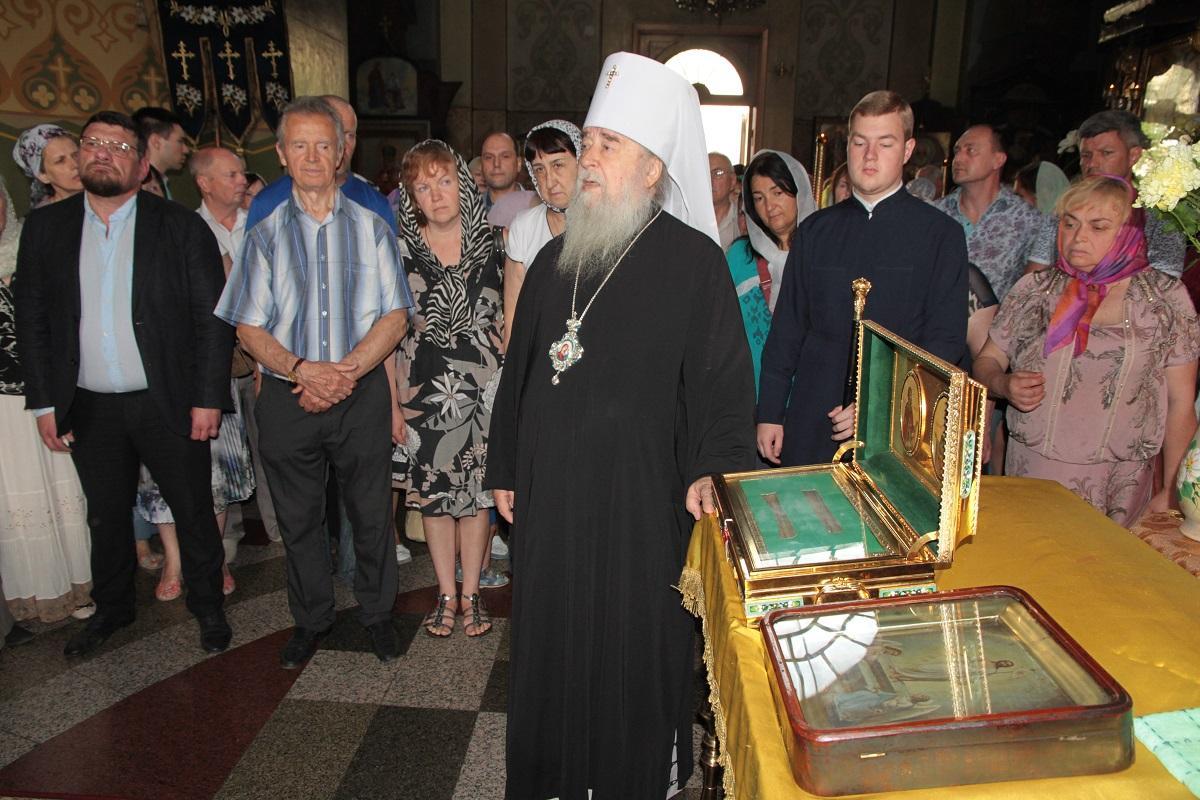 В Днепре будут находиться мощи святых благоверных князей Петра и Февронии / eparhia.dp.ua