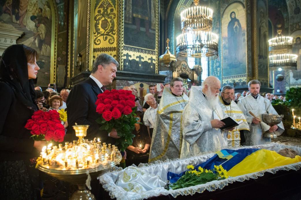 Лук'яненко помер 7 липня у віці 89 років / фото president.gov.ua