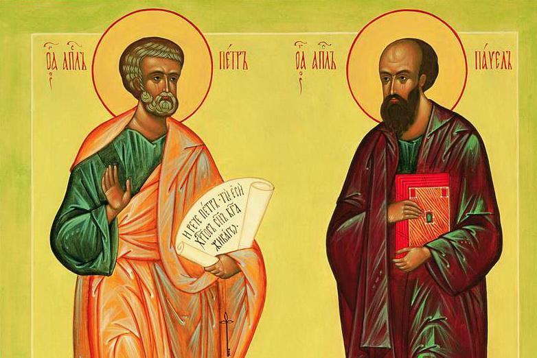 День Петра и Павлаотмечается ежегодно в один и тот же день - 12 июля / spz