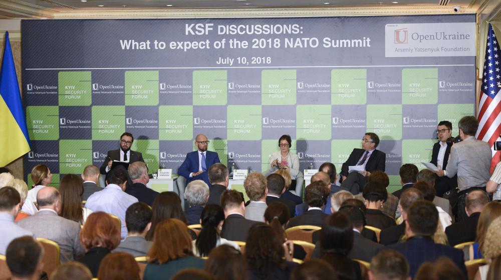 Яценюк звернувся до партнерів із НАТО надати Україні статус партнера Альянсу з розширеними можливостями / nfront.org.ua