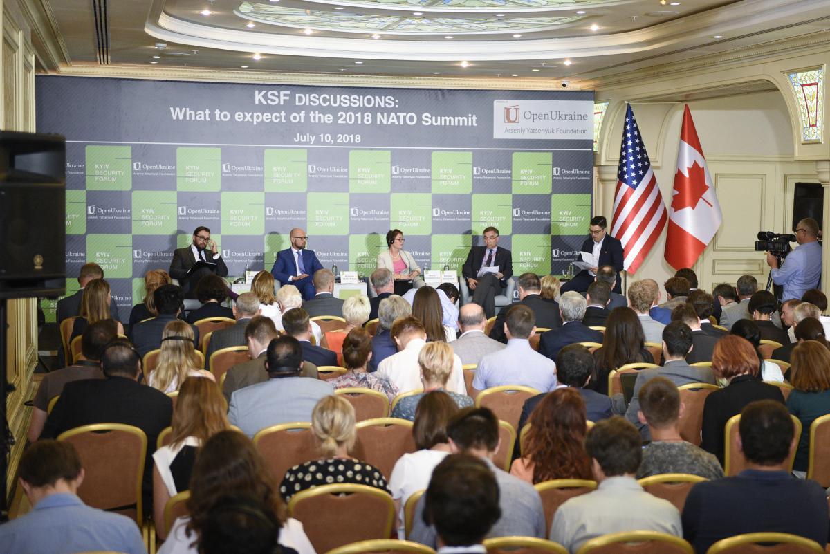 Яценюк: членство Украины в НАТО - это двухсторонний путь / фото nfront.org.ua