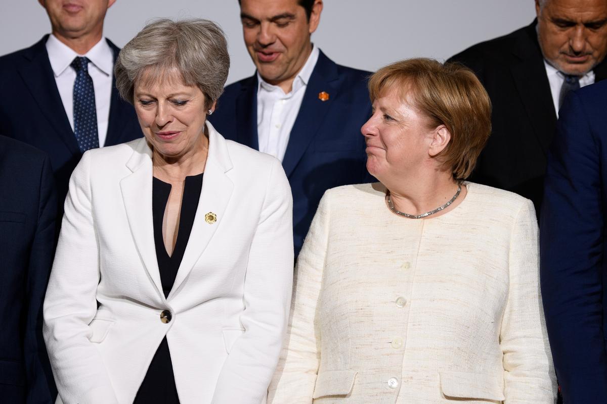 Тереза Мэй и Ангела Меркель / REUTERS