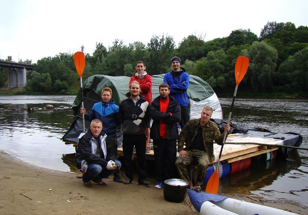 Близько 90 кілометрів водного шляху пройшли 12 учасників у пам'ять про митрополита Іосифа / orthos.org