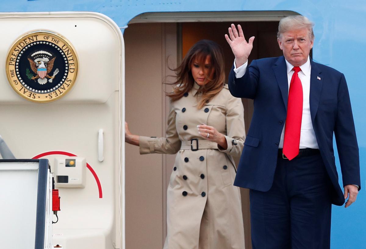 Подружжя Трампів / REUTERS