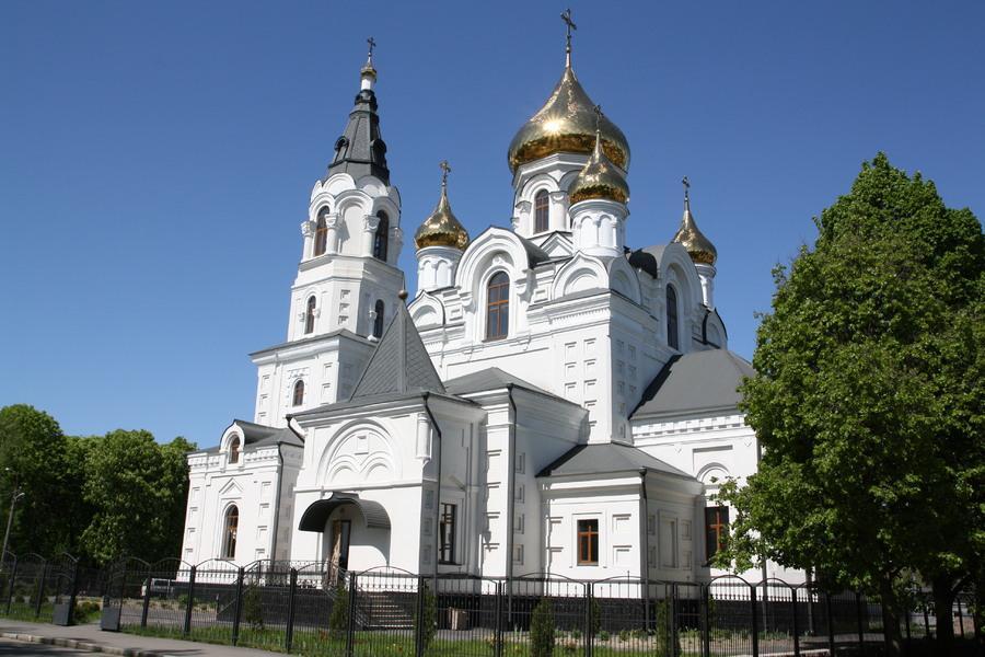 Свято-Крестовоздвиженский кафедральный собор Житомира / zhitomir.life