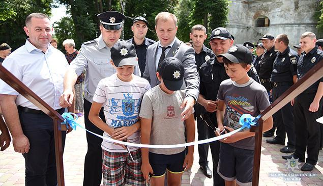 Отдел коммуникации полиции Тернопольской области