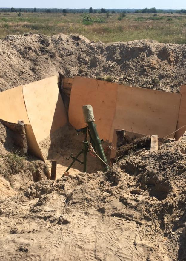 Эксперты заявили о несоответствии стали в минометах «Молот» техническим характеристикам / фото facebook.com/MatiosAnatolii