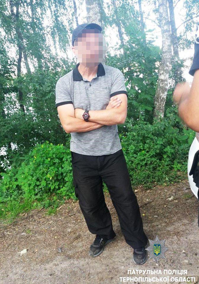 На 55- річного громадянина складено протокол \ Патрульна поліція