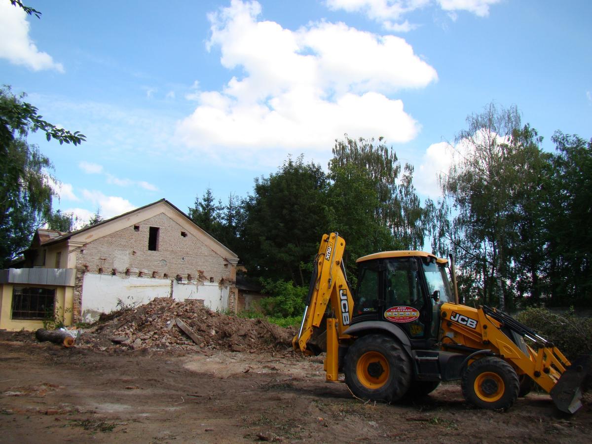 Будівельні роботи проходитимуть у декілька етапів \ Фото: Ліля Костишин