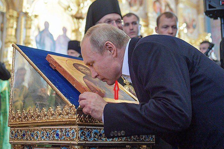 Путін з'явився на Валаамі / фото facebook.com/olegsandro.panfilov