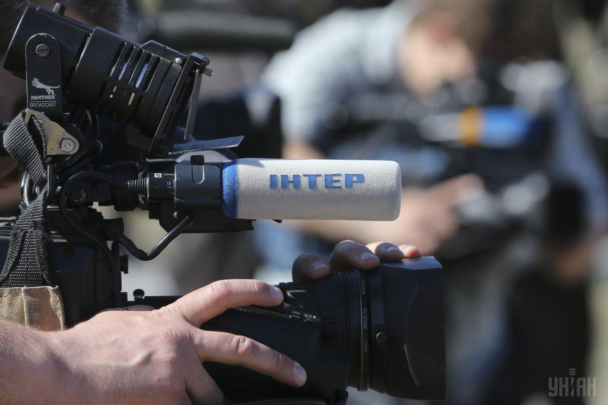 Председатель Нацсовета Юрий Артеменко предупредил представителя телеканала о том, что в редакционной политике «Интера» «надо быть осторожнее» / фото УНИАН