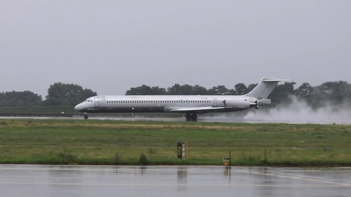 Средний возраст эксплуатируемых самолетов составляет больше 25 лет / скриншот facebook.com/airportboryspil