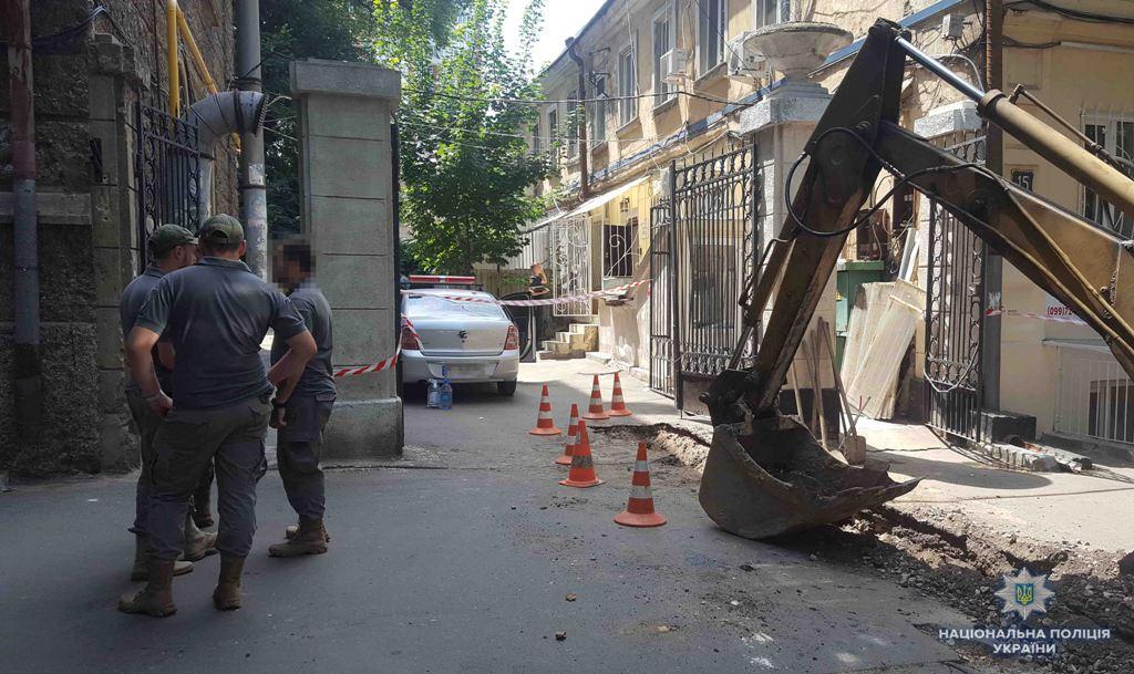 В центре Одессы произошла стрельба / фото od.npu.gov.ua
