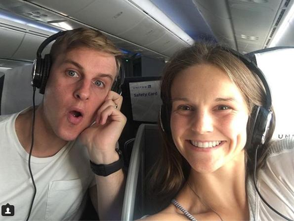 Татьяна Мирутенко с мужем Джеймсом Гувером / instagram.com/tmenko