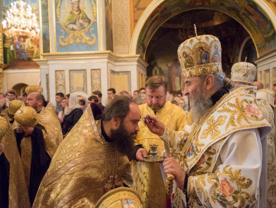 Предстоятель УПЦ звершив всенічне бдіння уКиєво-Печерській лаврі / news.church.ua
