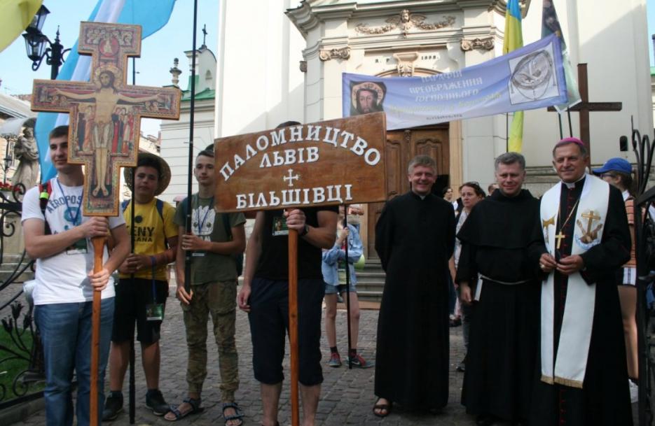 Паломники молятся за прекращение войны и мир в нашей стране / rkc.lviv.ua