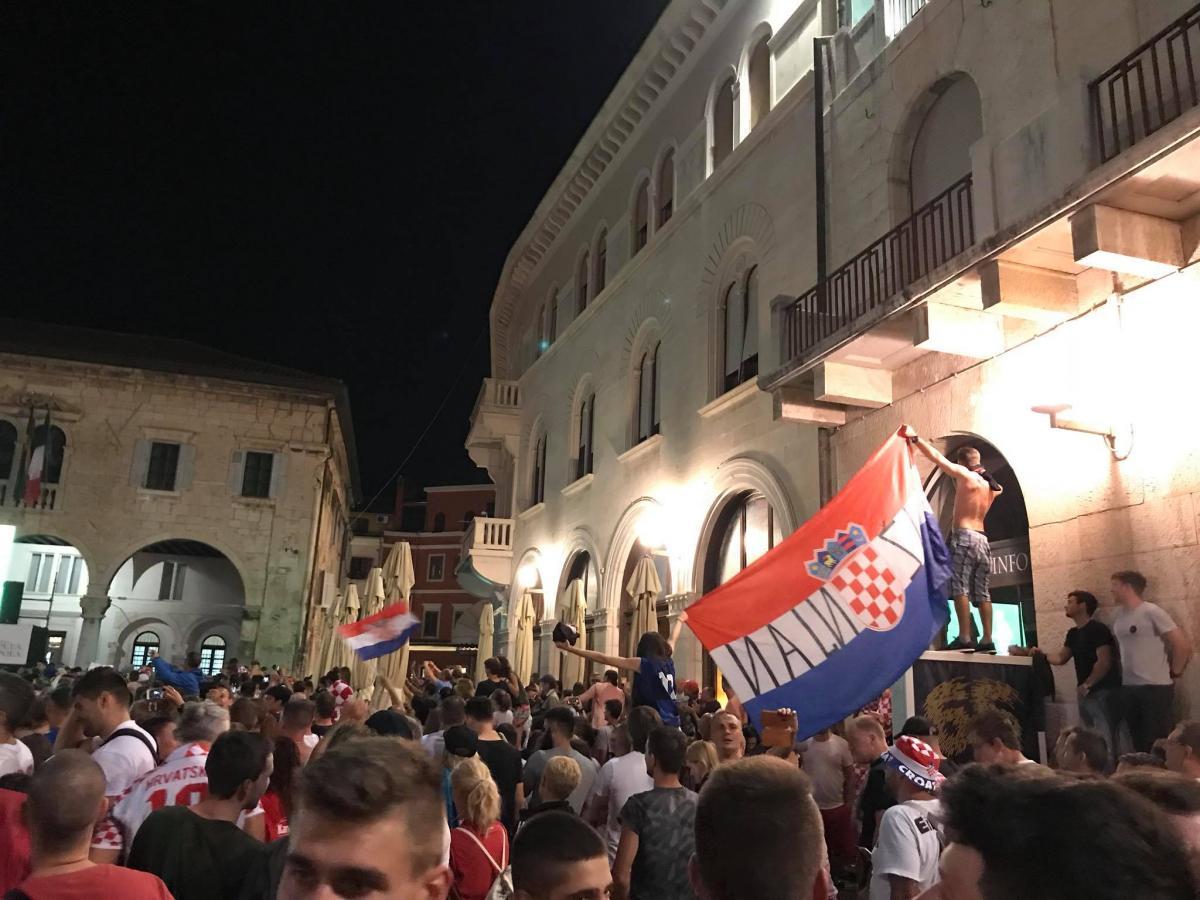 Празднование в Хорватии / фото facebook.com/DariaMustafina