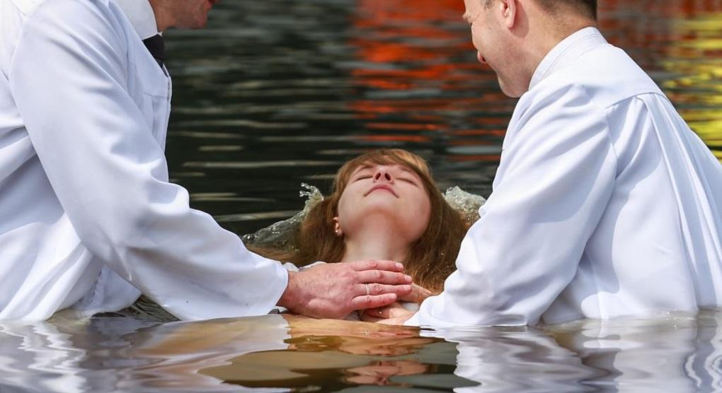 В Киеве полтысячи человек одновременно примут водное крещение / radiosvoboda.org