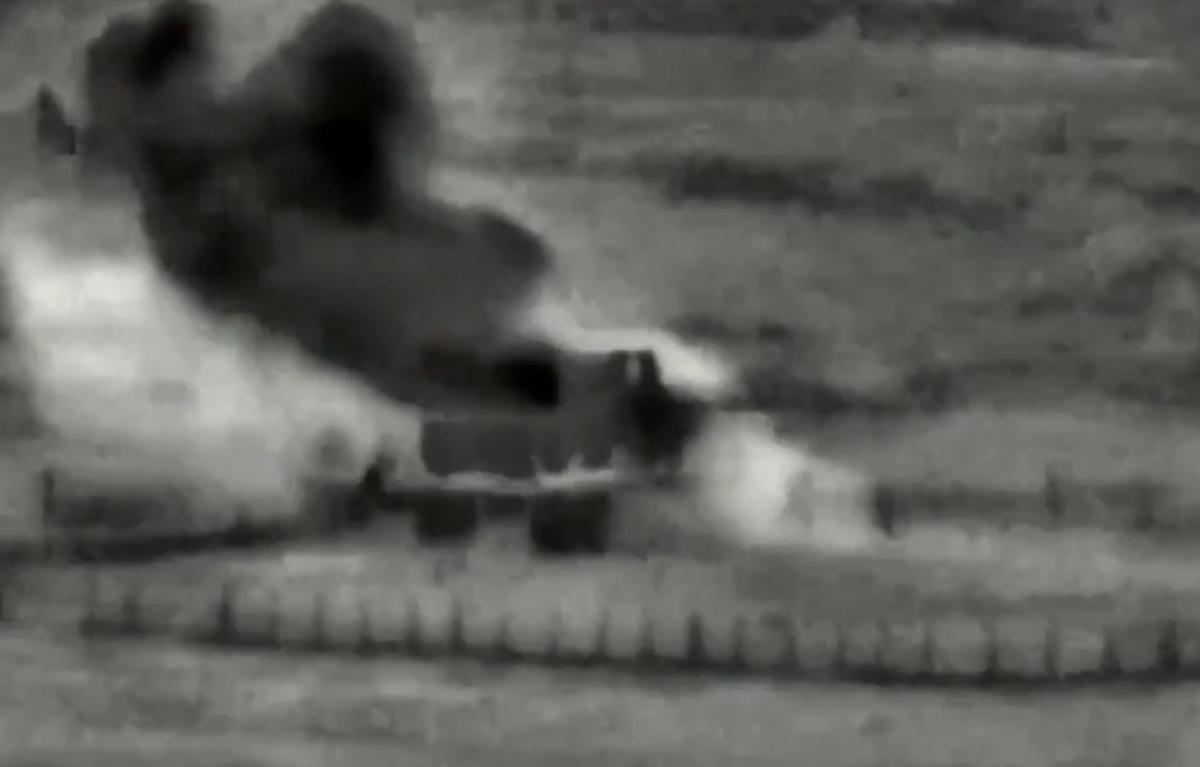 Израильская армия ответила на проникновение чужого беспилотника на свою территорию / Скриншот с видео, Twitter - IDF
