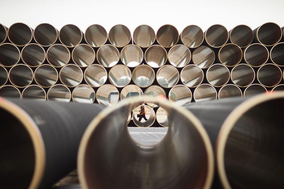 """""""Газпром"""" збирається почати будувати останній шматок """"Північного потоку-2"""" в п'ятницю/ фото nord-stream2/Axel Schmidt"""