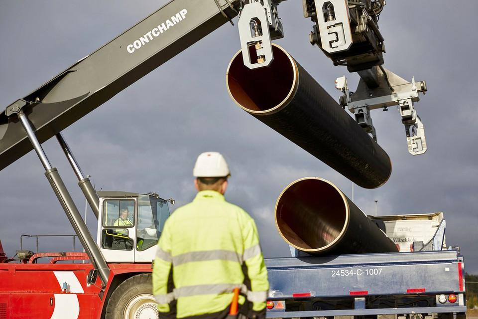"""Россия обещает транспортировать газ через Украину после постройки """"Северного потока-2"""", и это, скорее всего, ложь / фото nord-stream2/Axel Schmidt"""