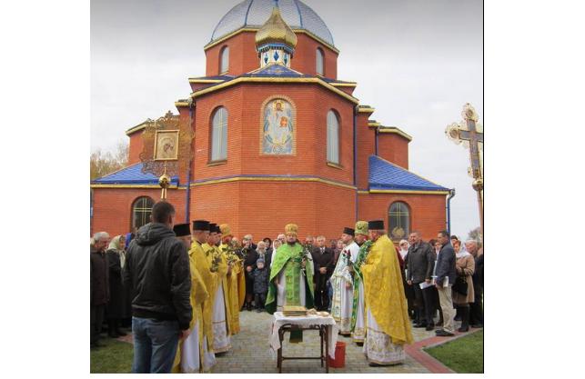 Церковь в селе Затурцы / volynnews.com