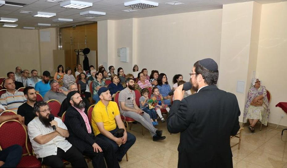В Днепре раввин прочел публичную лекцию об Иерусалимском храме / djc.com.ua