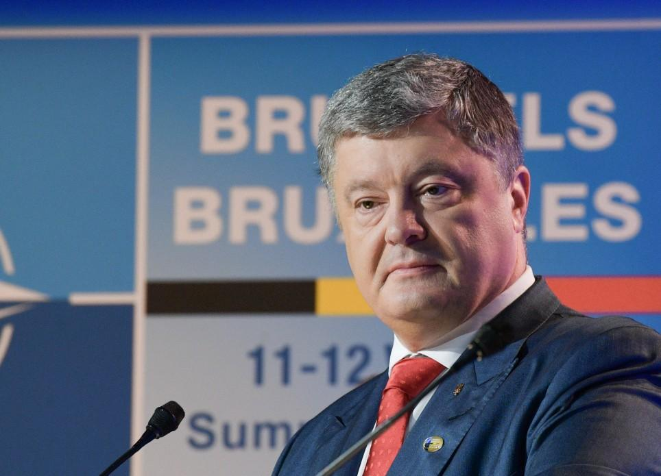 Порошенко, зазначив, що відбулося більше 15 двосторонніх зустрічей в рамках саміту в Брюсселі \ president.gov.ua