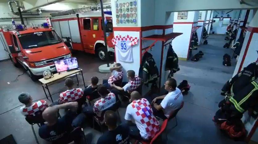 Хорватські пожежники виявили справжній професіоналізм / facebook.com