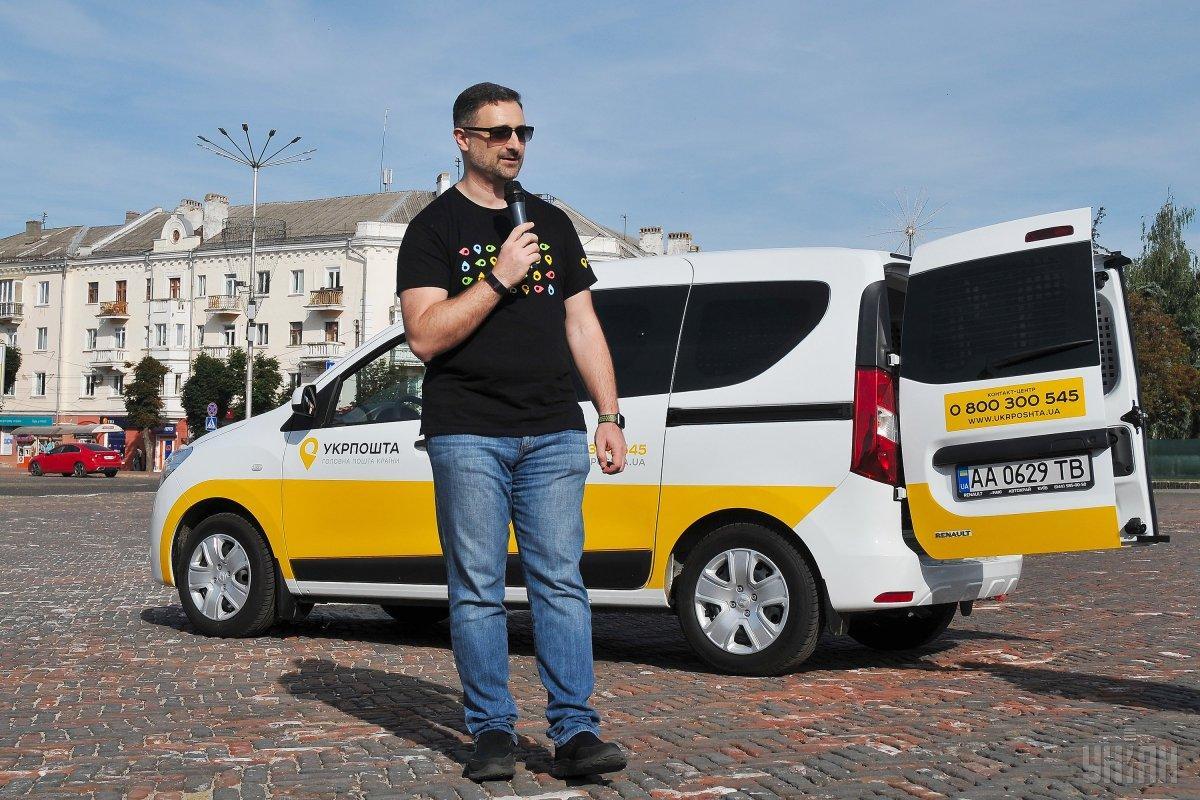Спелянский зазначив, що ці авто будуть працювати у п'яти областях України / фото УНІАН
