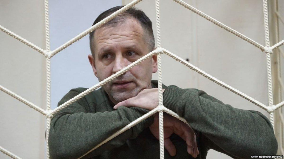 Volodymyr Balukh on hunger strike since March 19 / Photo from Radio Liberty