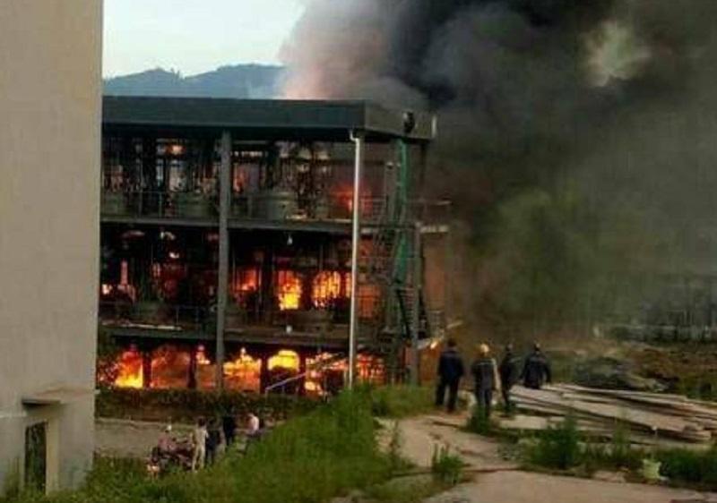 Взрыв унес жизни 19 человек / Фото twitter.com/ChinaPlusNews